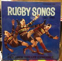 THE JOCK STRAPP ENSEMBLE Rugby Songs Volume Three 1964 UKvinyl LP EXCELLENT CON