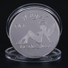 Sexy Women Angel Commemorative Coins Collectible Coins Silver Sex Coins Gift
