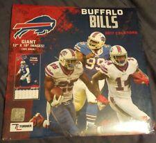 BUFFALO BILLS NFL 2017 SEALED WALL CALENDAR