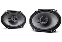 "AUTHENTIC Kenwood KFC-D681C  6X8""  2 Way Car speakers (pair) SHIPS FAST"