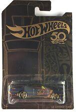 HOT WHEELS 50th ANNIVERSARY BLACK & GOLD SERIES 68 DODGE DART 4/6 BRAND NEW
