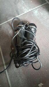 2x original Logitech Mikro für Wii Spiele USB Mikrofon