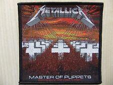 Aufnäher - Patch - Metallica - Master Of Puppets - Overkill - Slayer - Motörhead