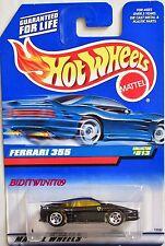 HOT WHEELS 1998   FERRARI 355 #813 BLACK