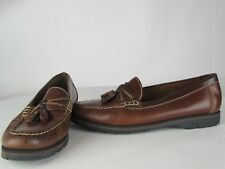 Women's size 6 G.H. Bass & Co. Loafers brown tassel 'Brooke' slip on  Weejuns