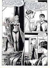FLASH ESPIONNAGE PLANCHE ORIGINALE AREDIT PAGE 20