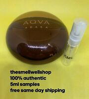 ^^5ML SAMPLE^^ Aqva Amara by Bvlgari Cologne Atomizer Decant ^^Discontinued^^