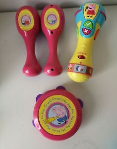 Peppa Pig Musical Instruments & Sing Along Microphone