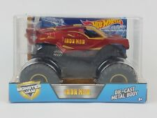 Hot Wheels Monster Jam Iron Man Die-Cast Vehicle 1:24 Scale