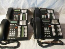 Lot of 4 T7316E Charcoal Avaya Nortel Norstar Phones