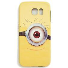 THE MINIONS Handy Hülle Cover Case Schutzhülle Samsung Galaxy S6 Steve 1-AUGE