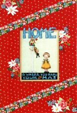 Mary Engelbreit 2 Blank Note Cards ~ Home Is Where You Hang Your Hat Birdhouse