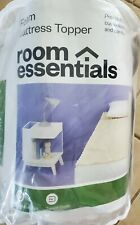 Room Essentials Foam Mattress Topper XL Twin New