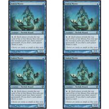 4 x DAKRA MYSTIC NM mtg Journey Into Nyx Blue - Merfolk Wizard Unc