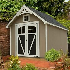 Ridgepointe 8' x 12' Wood Storage Shed, 940 Cubic Ft. of Storage