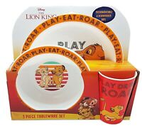 The Lion King Dinner Set Brand New Gift
