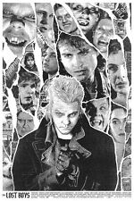 Rare LOST BOYS Screenprint Poster by Kyle Crawford Signed + #28/30 like Mondo