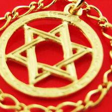 7 GENUINE REAL 14KT YELLOW ANTIQUE VERMEIL GOLD AUTHENTIC CHARM BRACELET BANGLE