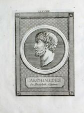 Archimedes Syrakus Philosophie Griechenland Mathematik Analysis Physik Ingenieur