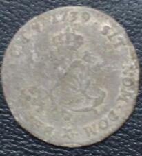 Double sol 1739 X Amiens - Louis XV le bien aimé (2 sous) - Billon