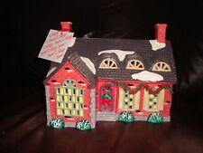 Dept 56 Snow Village Stonehurst House #5140-3 Handpainted Ceramic