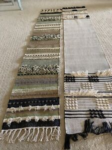 lot of 2 pier 1 table runners