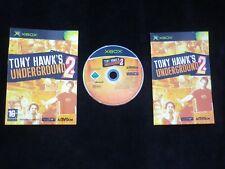 TONY HAWK'S UNDERGROUND 2 : JEU Microsoft XBOX (skate COMPLET envoi suivi)