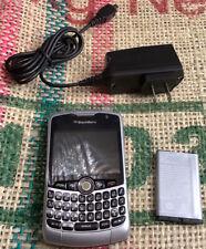 BlackBerry Curve 8330 - Silver Smartphone + Wall Plug +Battery. CaseSays Refurb