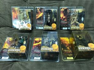 Clive Barker INFERNAL PARADE Complete SET BETHANY BLED McFarlane MARY SLAUGHTER