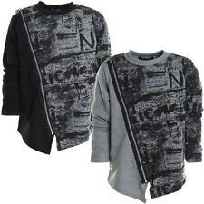 Markenlose Jungen-Pullover & -Strickwaren Größe 140 mit Rundhals-Ausschnitt