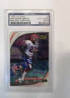 ANTOWAIN SMITH 1999 Upper Deck Ionix COUGARS Signed Football Card PSA/DNA Bills