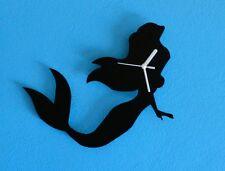 Ariel Mermaid Silhouette - Wall Clock