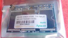 Apacer 2GB 44 pin horizontal IDE flash module SSD drive; AP-FM2048A10C5G;