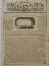 Newspaper Civil War President Elect Abraham Lincoln Leaves Springfield 1861