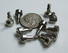 """10 Pc Lot Slotted Shoulder Screw 4-40 x 5/32 shoulder is 1/8"""" Dia. by 3/16"""" Long"""