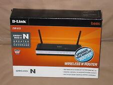 D-Link 300 Mbps 4-Port 10/100 Wireless N Router (DIR-615) (Brand New)
