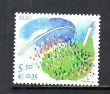 Estonia Gomma integra, non linguellato 2009 SG600 25TH FESTIVAL CANZONE