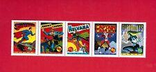 1995  #  1583ai    5 STAMPS STRIP  CANADA  COMIC BOOK SUPERHEROES -   JT18