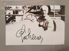 F1, LUIGI VILLORESI RACING DRIVER HAND SIGNED PHOTO. GENUINE ORIGINAL AUTOGRAPH
