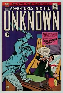 Adventures into the Unknown 170 Silver Age sci-fi horror American Comics 1967 FN
