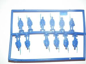Hat ACW Confederate Marching Infantry Model Figures - 1 - Sprue - 8332