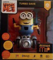 NEW Minion MiP Turbo Dave Robot Yellow Fun Balancing Robot Toy WowWee free shpg