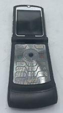 Vintage Motorola Razr V3 - Black Alltell Cellular Phone Very Good Works no cord