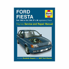 Haynes Ford Fiesta 89-95 Benzina Riparazione Manuale 1595 NUOVO