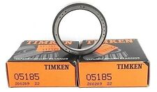 Lot Of 2 Nib Timken 05185 Roller Bearing Cups Tapered 11X47Mm