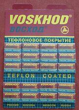 Voskhod Teflon Coated De Safety Razor Blade - 100 Double Edge Blades