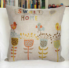 Home Office/Study Art Floral Decorative Cushions & Pillows