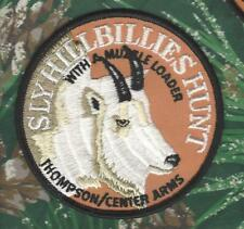 """Thompson/Center Arms Mt. Goat/Sheep 4"""" Hunting Patch """"Sly Hillbillies Hunt"""""""