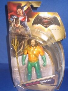 DC UNIVERSE COMICS BATTLE READY AQUAMAN BATMAN V SUPERMAN COLLECTOR FIGURE