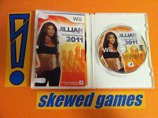 Jillian Michaels' Fitness Ultimatum 2011 - Wii Nintendo COMPLETE
